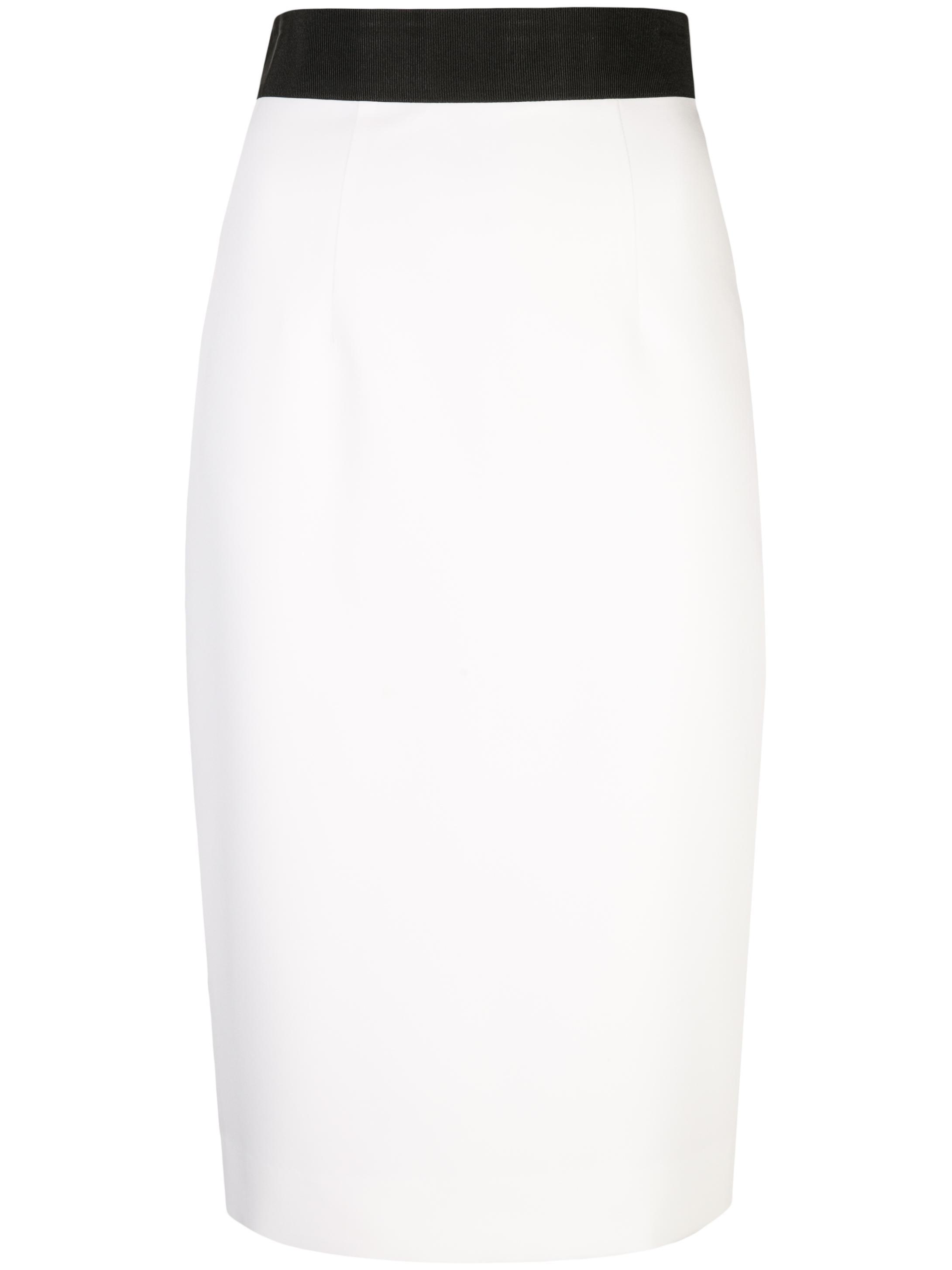 Straight Cady Midi Pencil Skirt Item # 999IC02589-BASIC