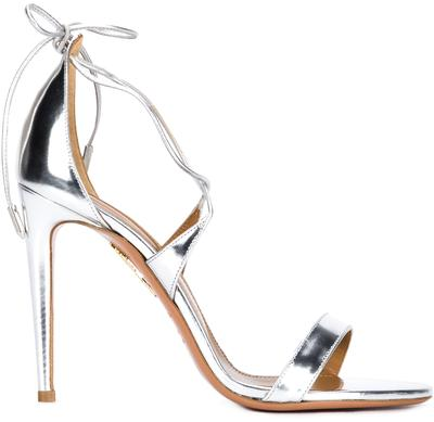 Linda Metallic Leather High Heel