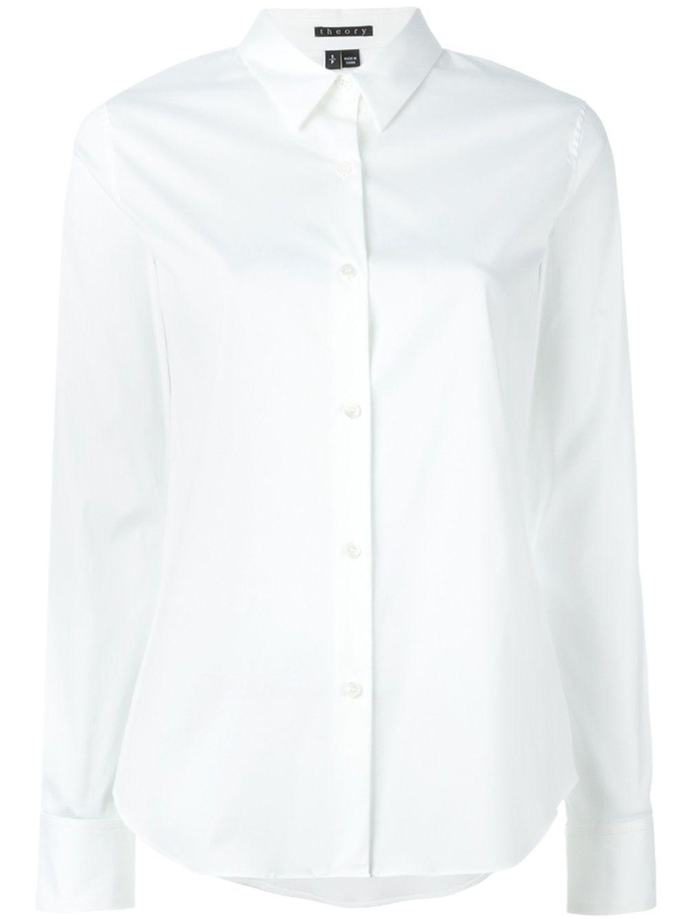 Tenia Cotton Luxe Buttondown Shirt Item # F0004501
