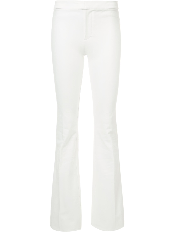 Full Length Flare Leg Trouser