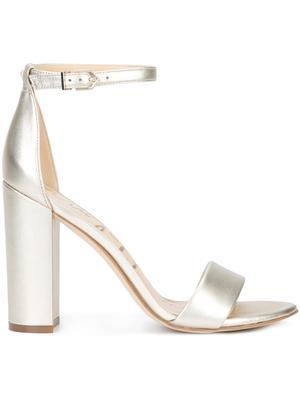 Chunky High Heel Ankle Strap Sandal