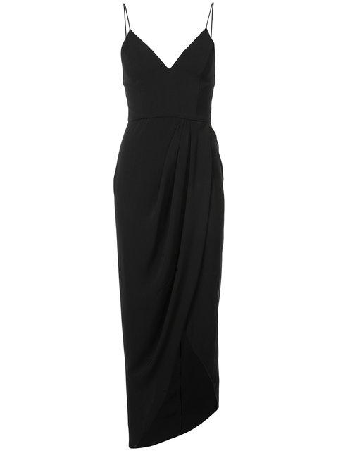 Cocktail Draped Maxi