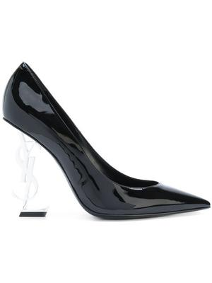 Pointed Toe Patent Leather 110mm Mono High Heel