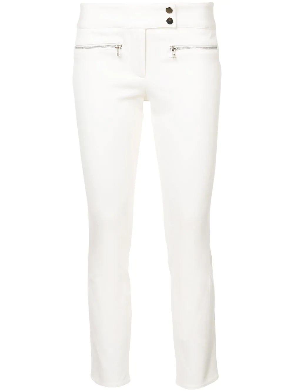 Cropped Bi Stretch Twill Pant Item # RE17-BST6200-S18