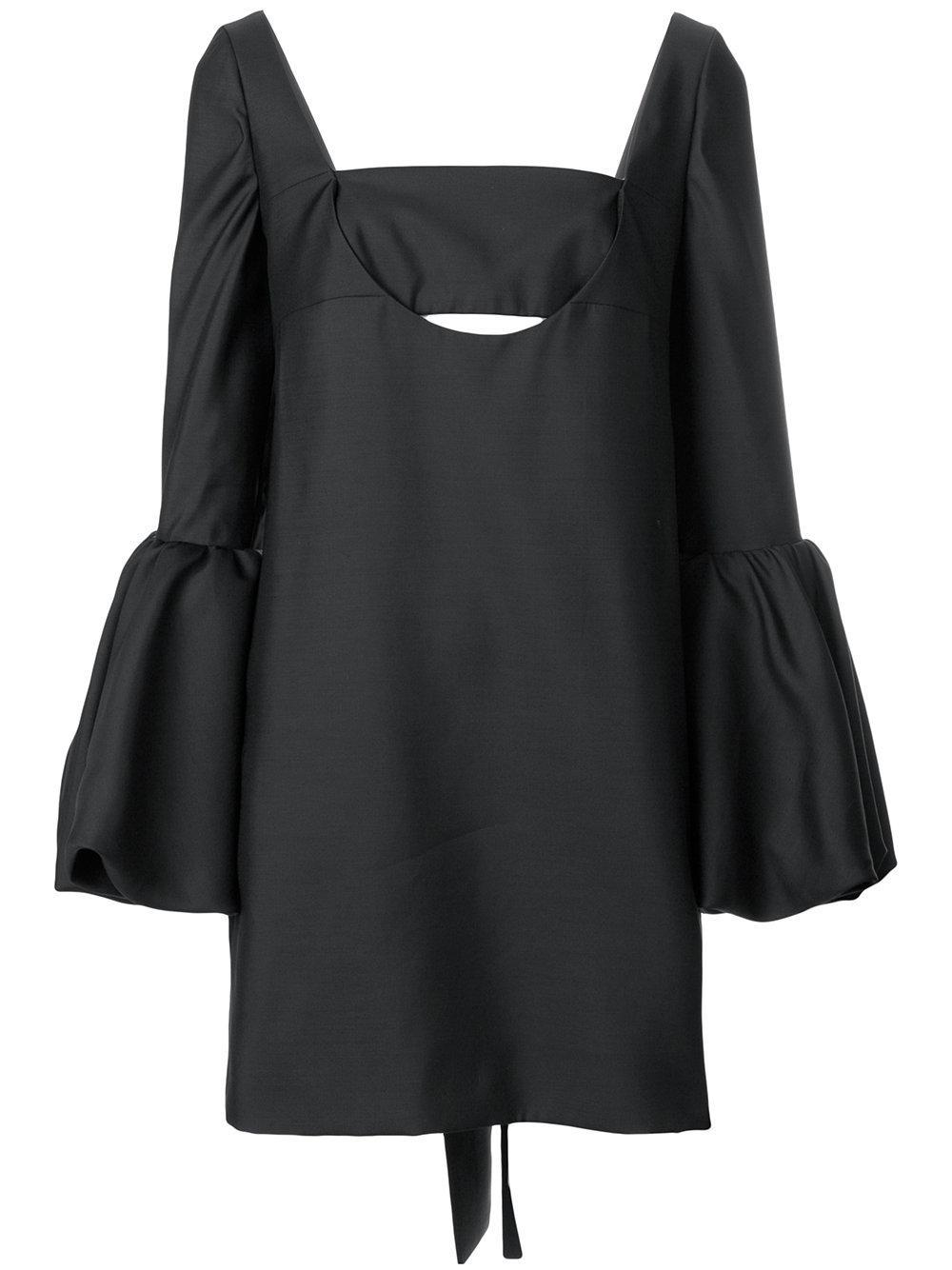 Off Shoulder Bell Sleeve Dress Item # PB0VAI9541D