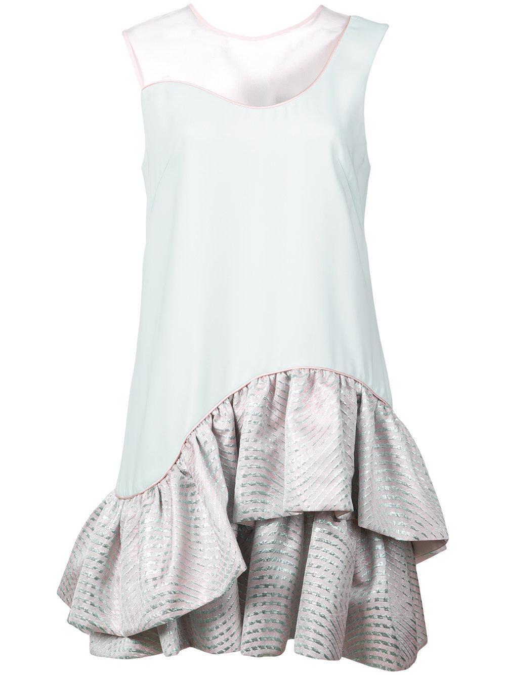 Marin Asymmetrical Hem Dress Item # S18-D453