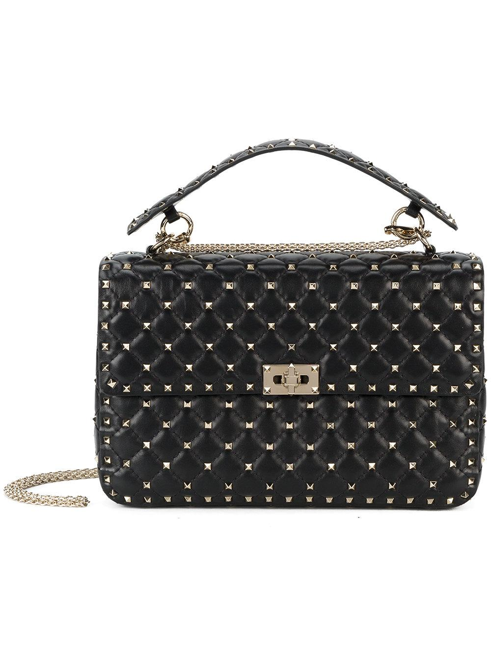 Rockstud Spike Large Shoulder Bag Item # PW2B0121NAP