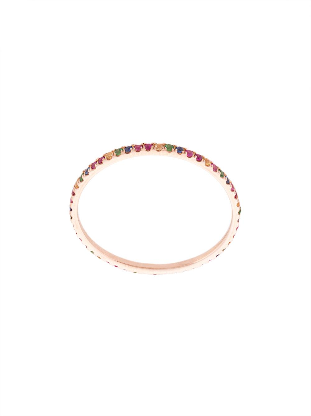 Rainbow Eternity Ring