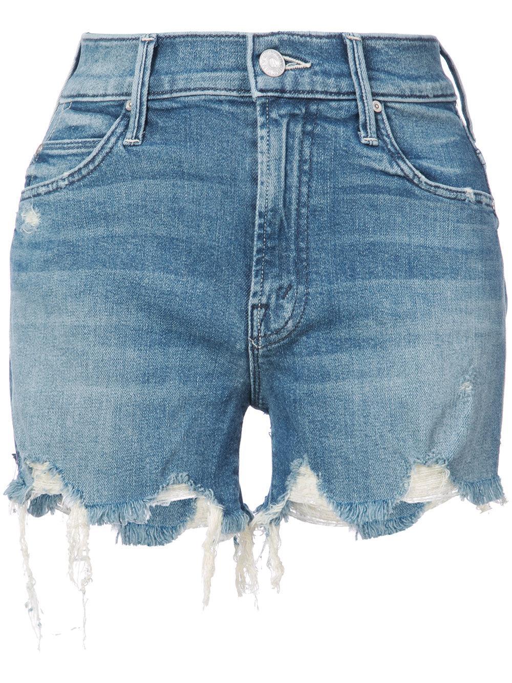 High Waist Rascal Chew Shorts