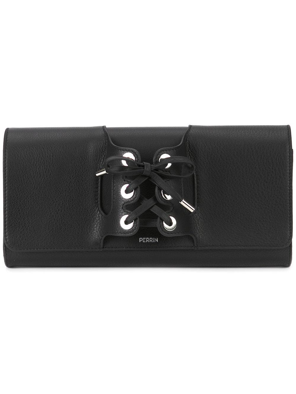 Le Corset Lace Up Clutch Bag