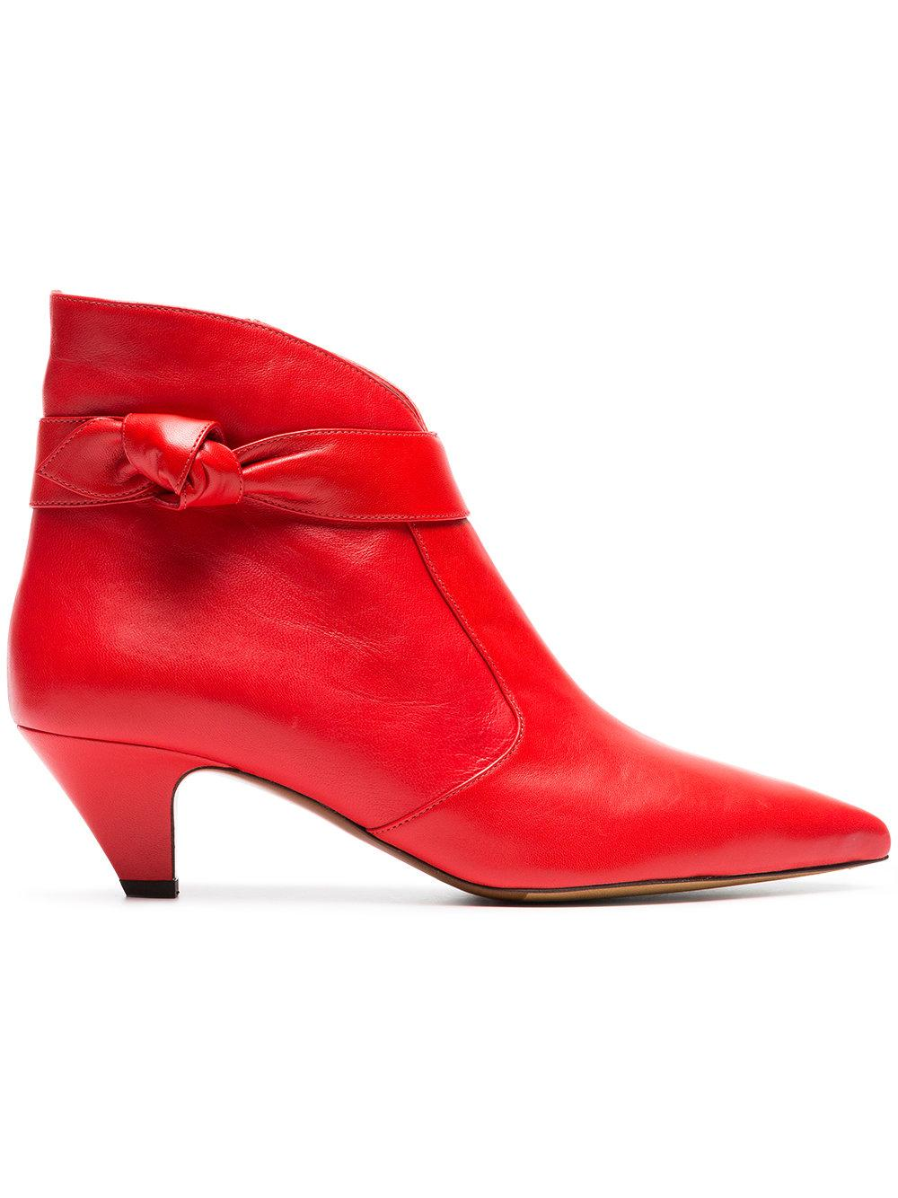 Pointed Toe Side Knot Bootie