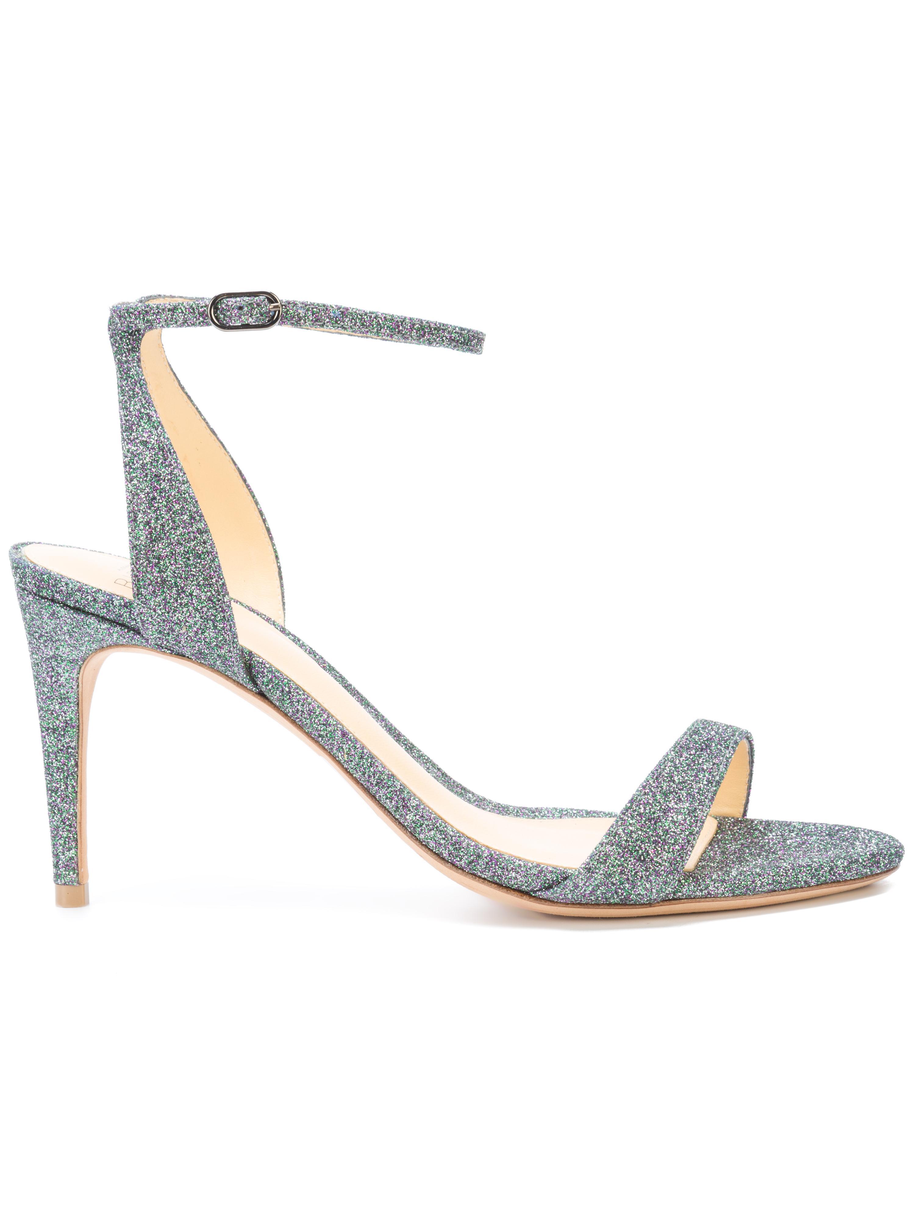 Metallic Strappy Sandal Item # SANTINE