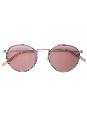 Ellice Rose Gold Tint Round Sunglasses