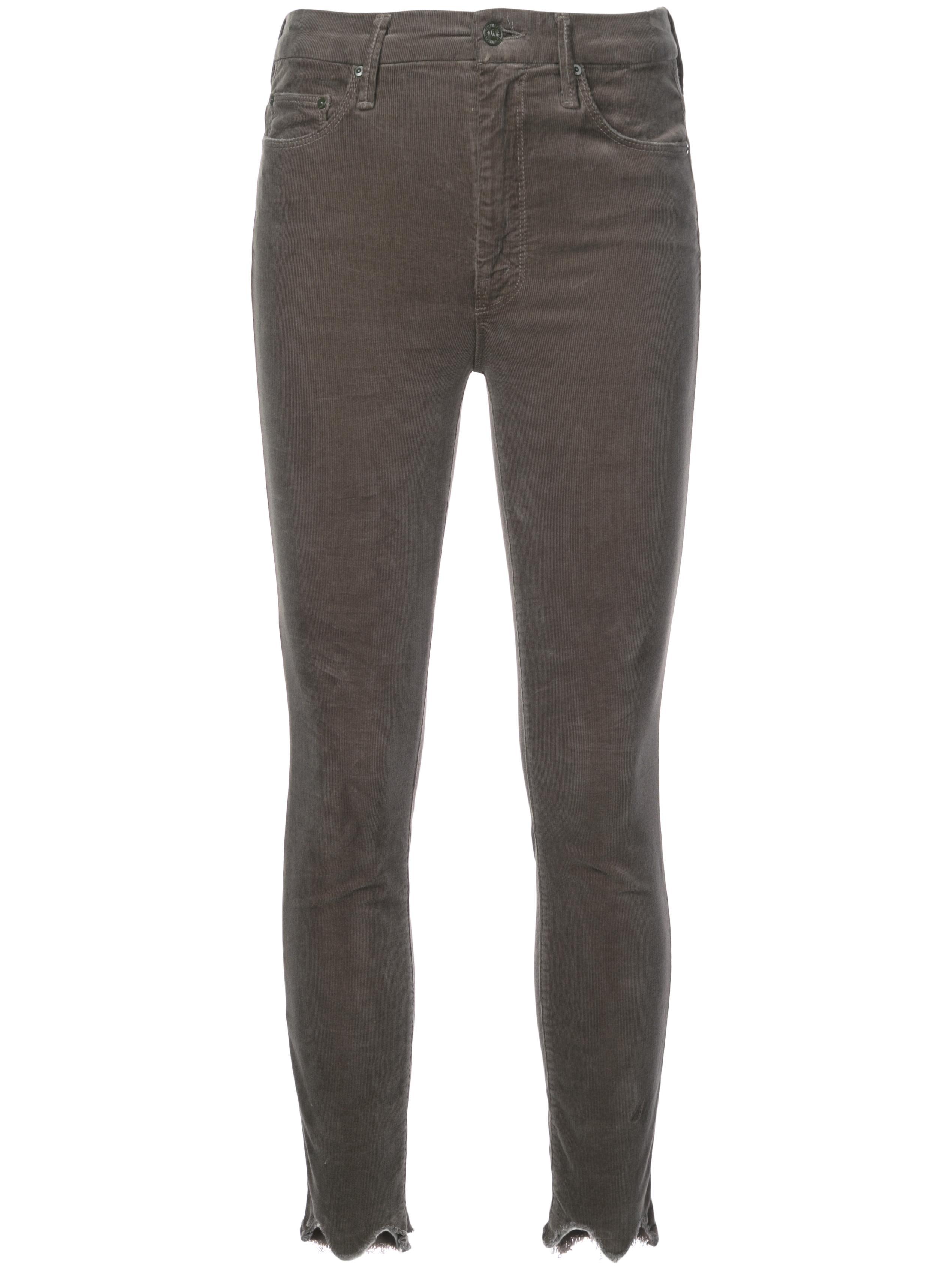 Velvet Cord High Waisted Looker Chew Pant Item # 1401-618