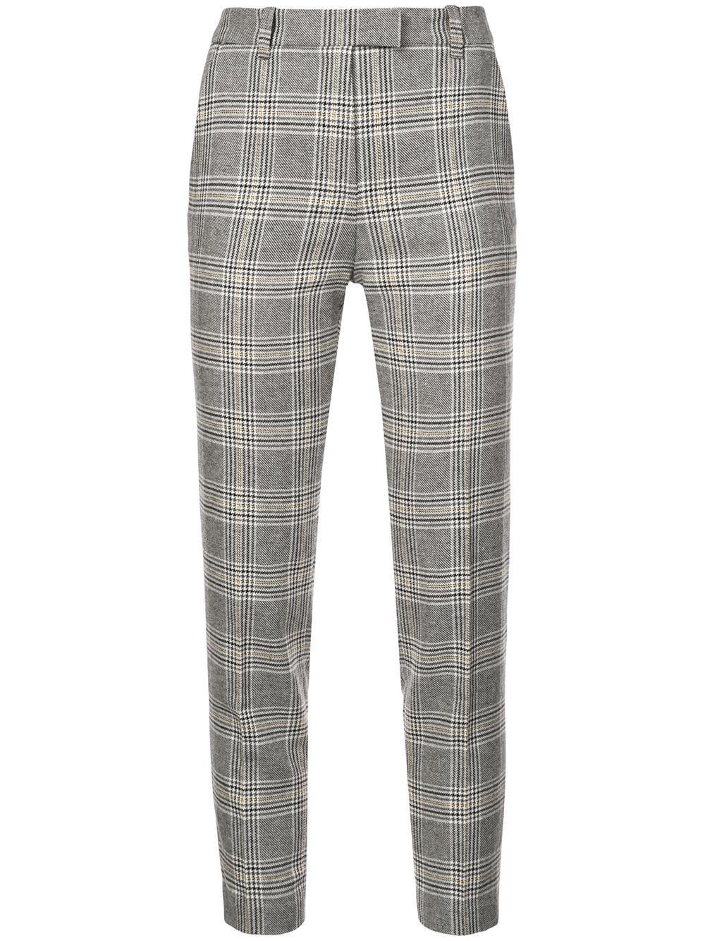 Plaid Slim Pant Item # S1611SEF