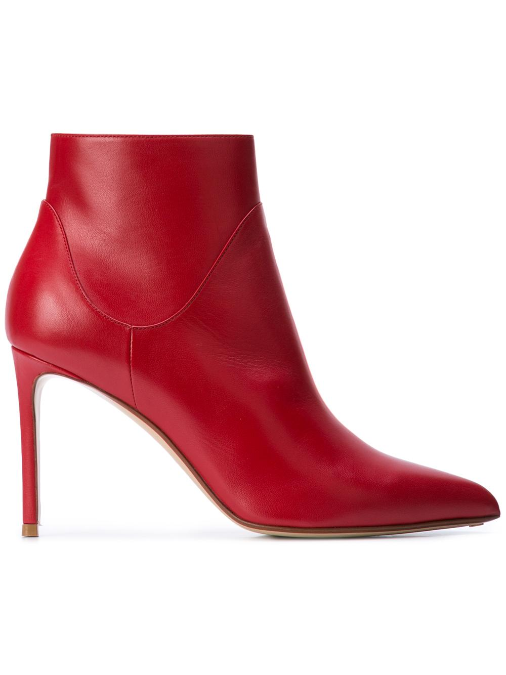 Nappa pointed Toe Bootie