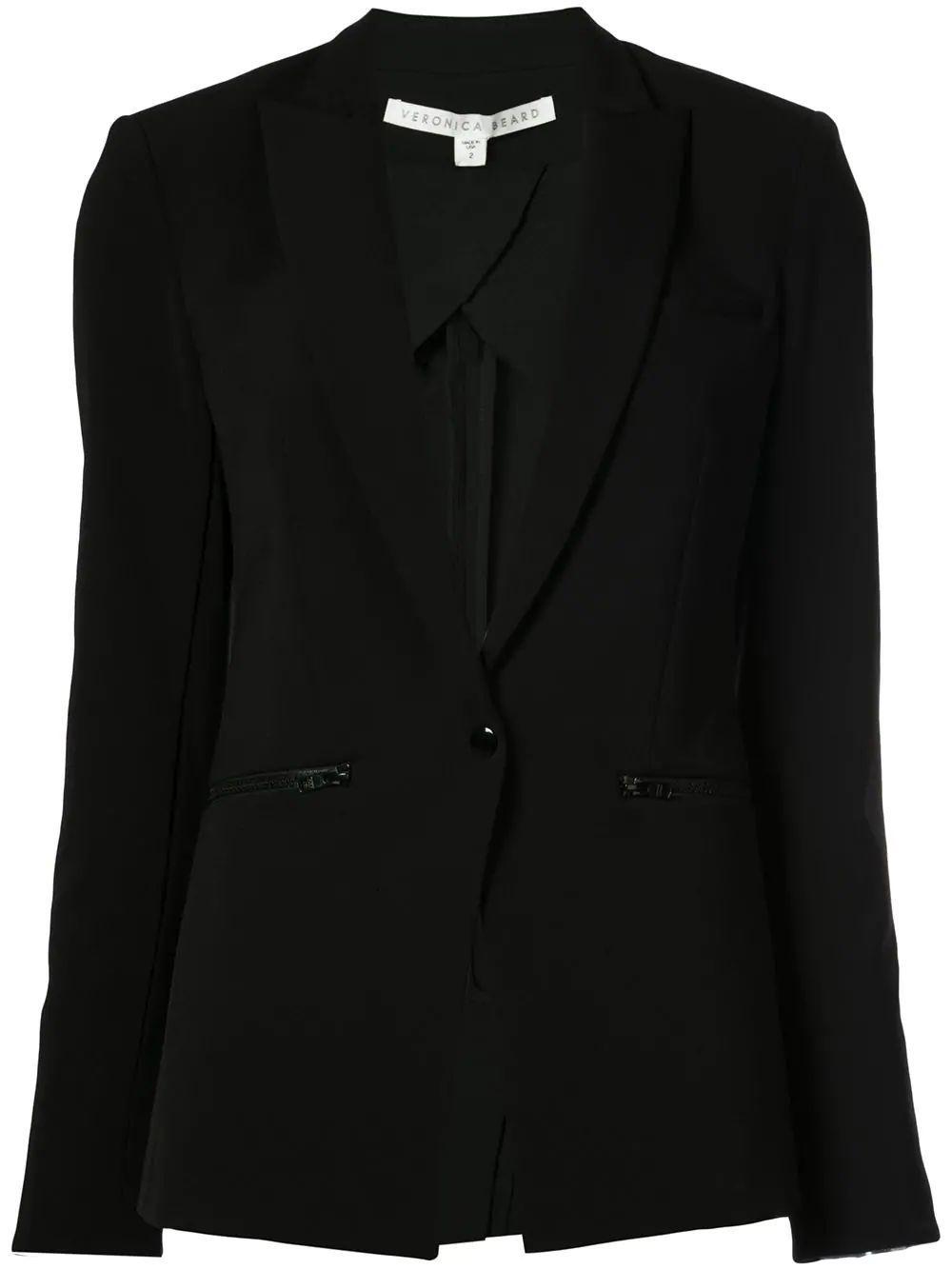 Scuba One Button Jacket