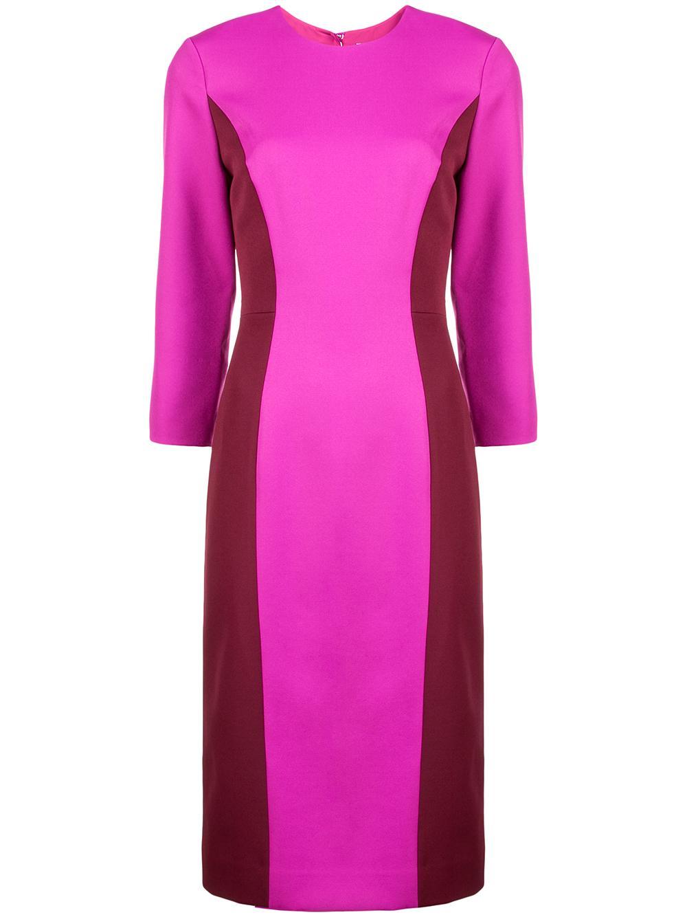 Elbow Sleeve Scuba Dress Item # 212CE014060