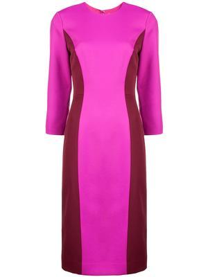 Elbow Sleeve Scuba Dress