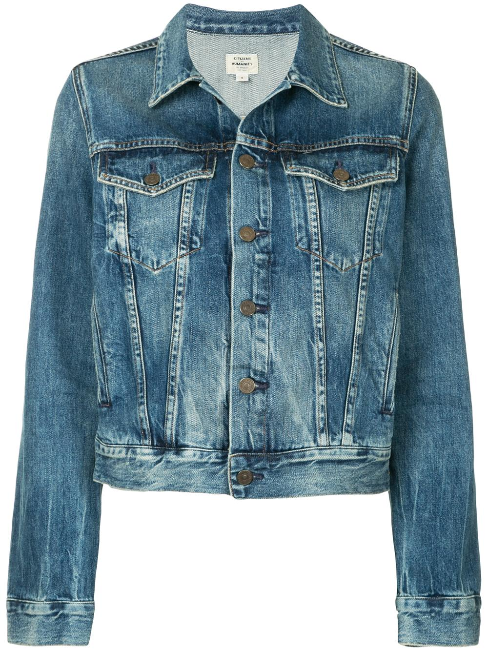 Nica Slim Denim Jacket