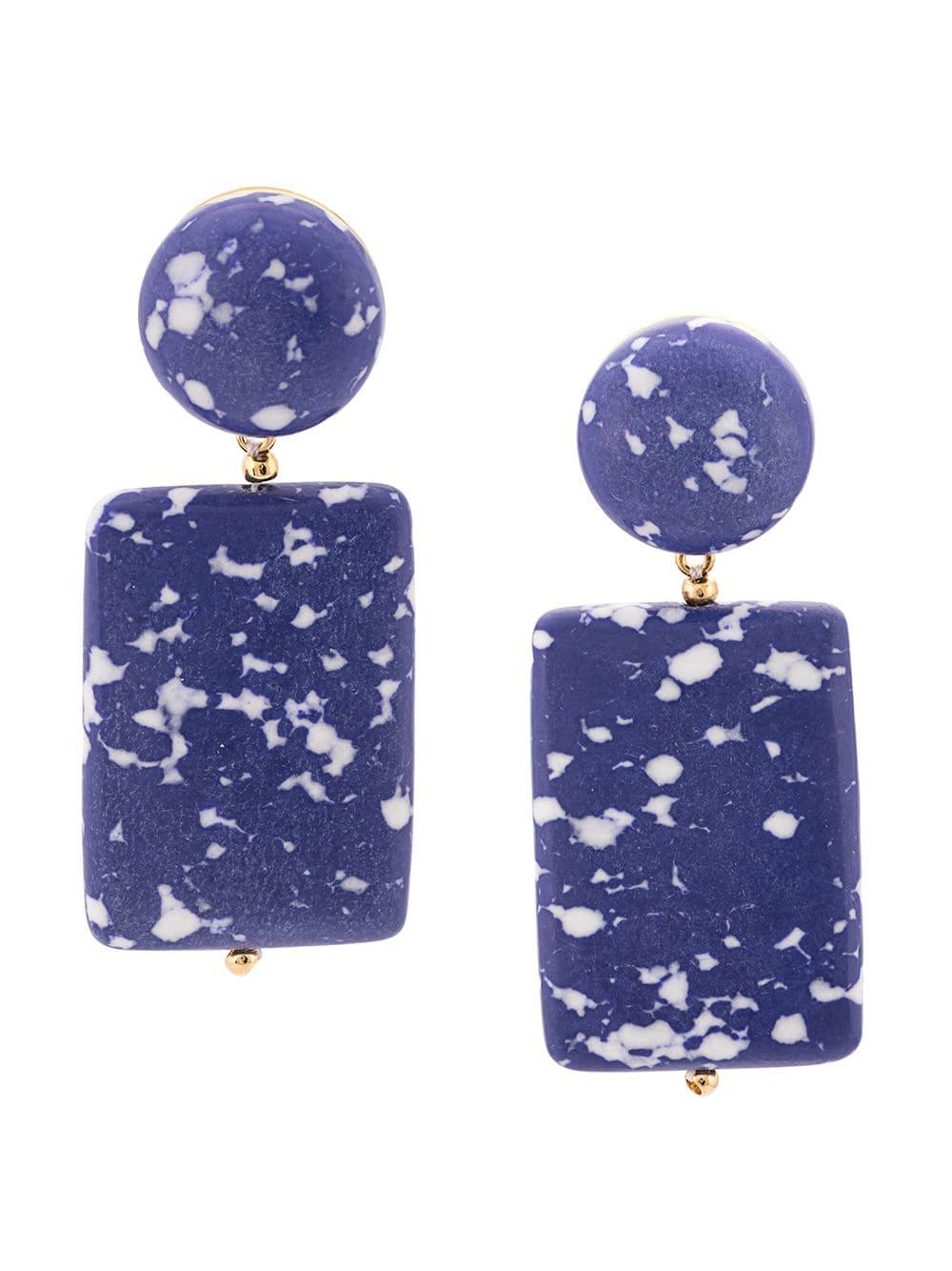 Keepsake Stone Earrings Item # LS0611CO