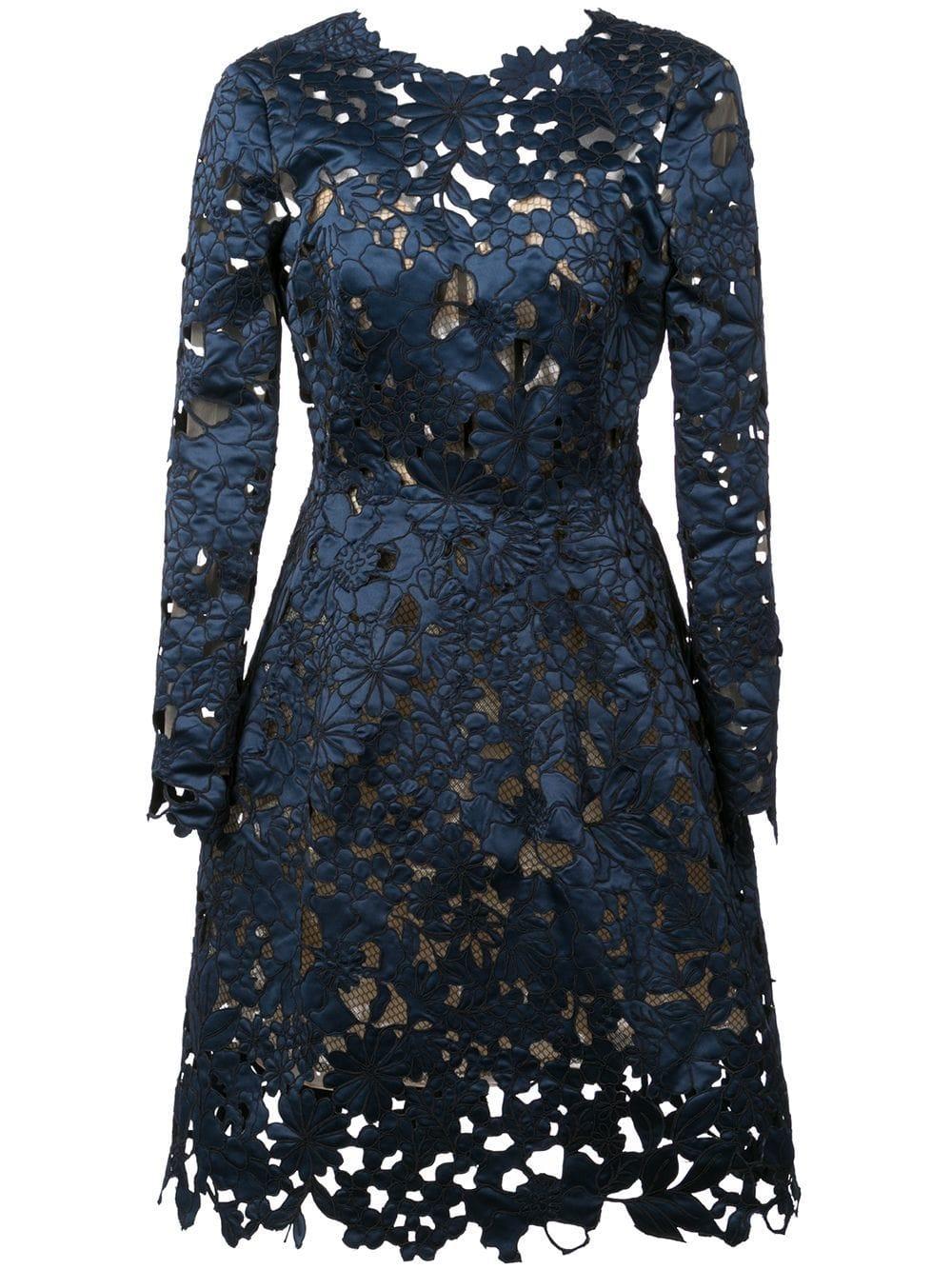 Longsleeve Lace Cocktail Dress