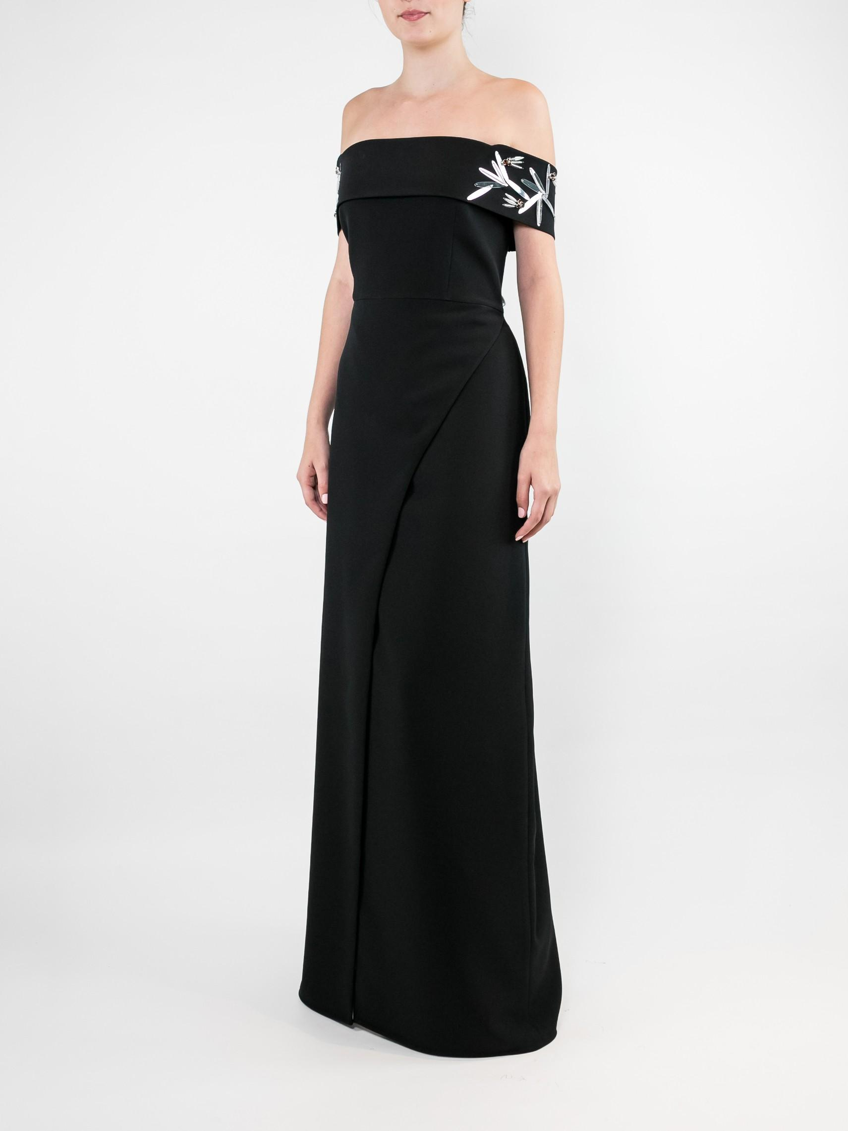 Long Crepe Topper With Wide Leg Pant