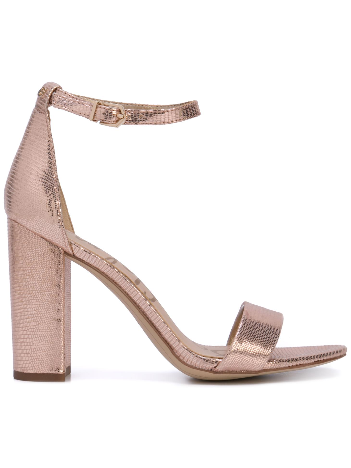 Hi Heel Sandal With Ankle Strap