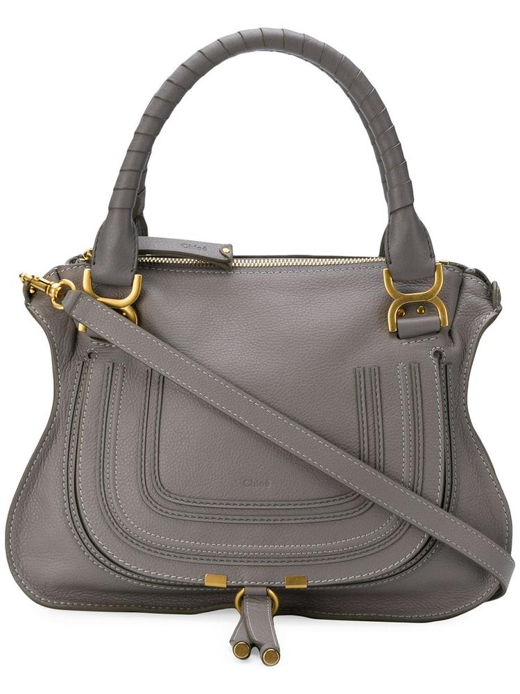 Marcie Med Double Carry Calfskin Bag