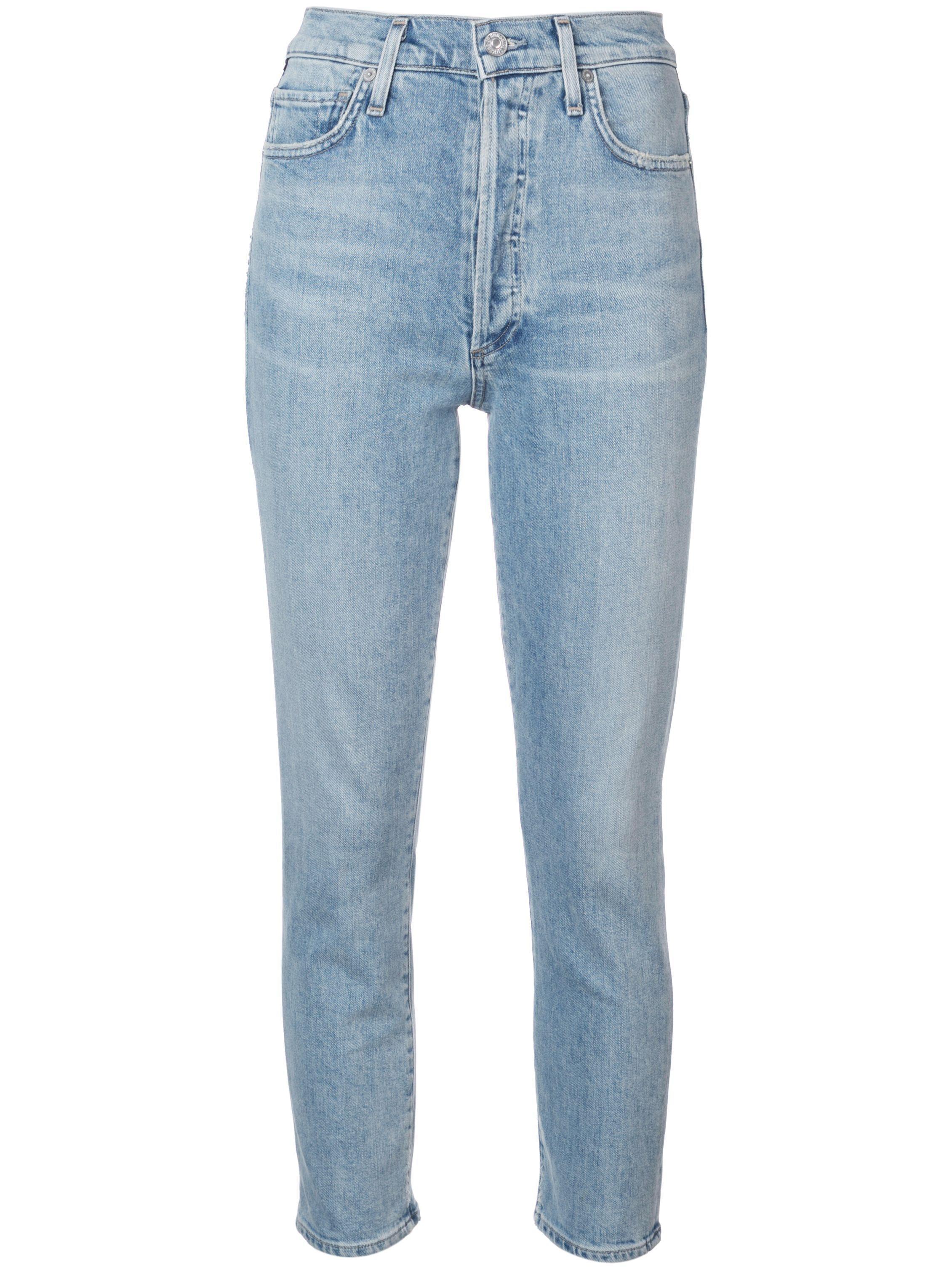 Olivia High Rise Slim Crop With Back Seam Item # 1776-990