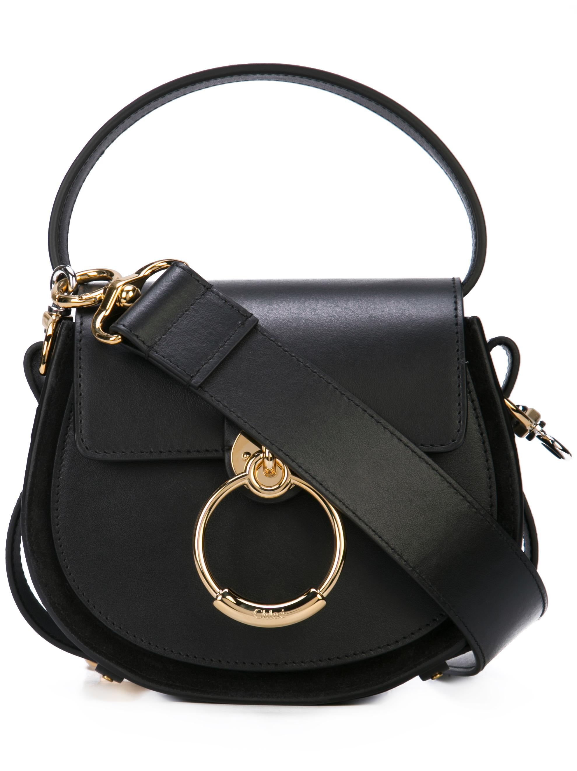 TESS Small Shiny Clafskin Double Carry HB
