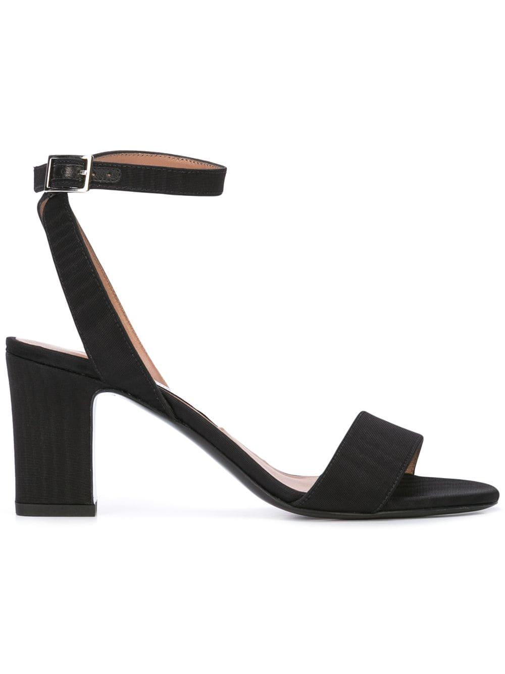 Cotton Viscose 75mm Sandal With Ankle Strap Item # LETICIA-R19