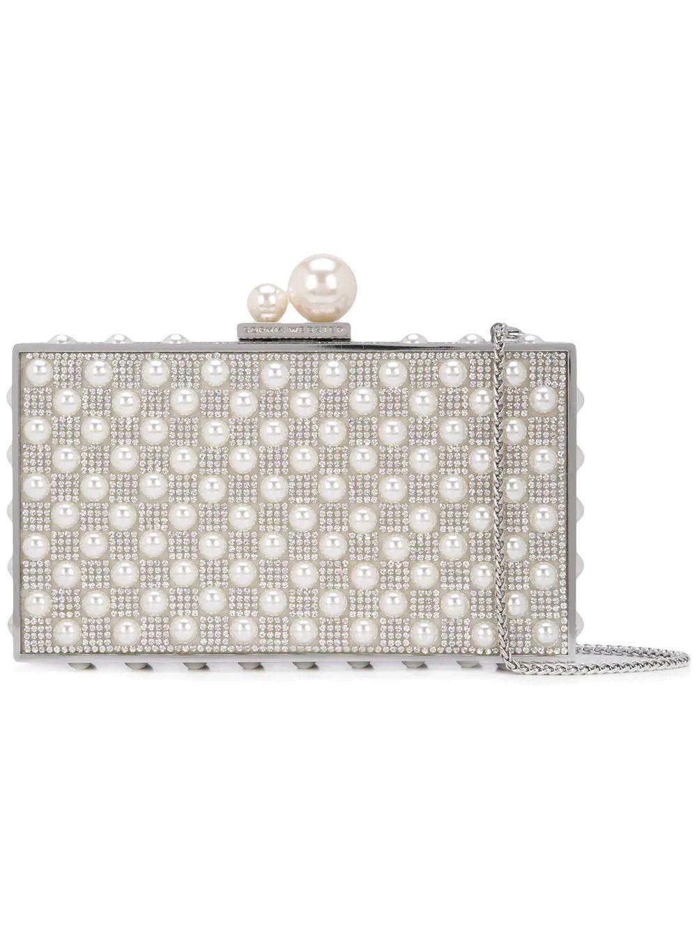 Clara Crystal Box Bag Item # BSS19070