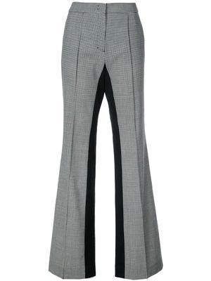 Minimal Vichy Loose Straight Leg Pant