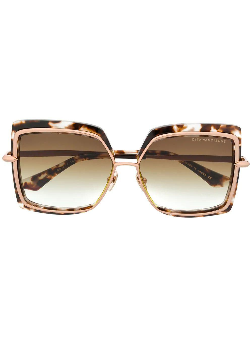 Narcissus Square Tort Rose Gold Item # DTS503-58-02