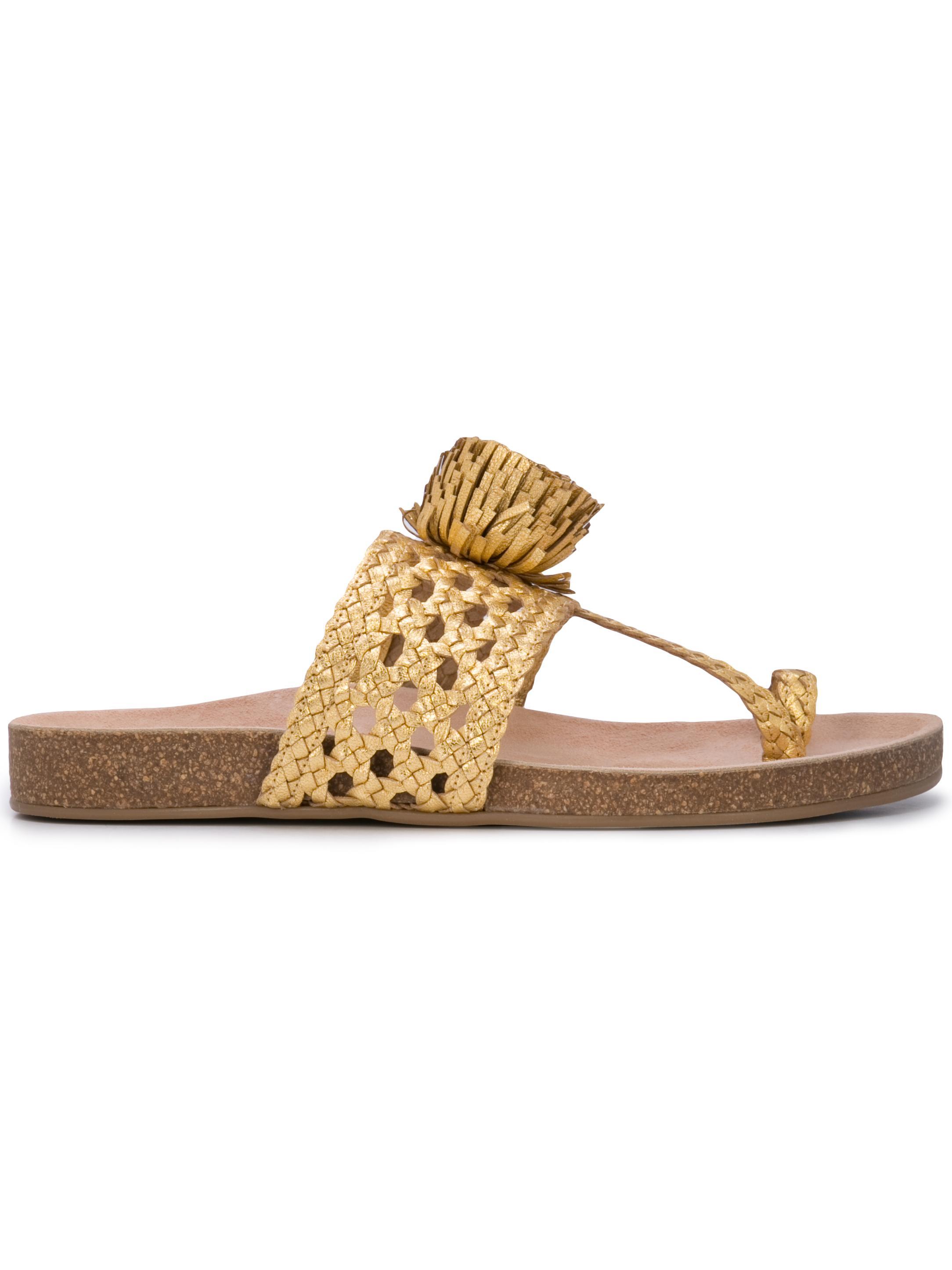Woven Thong Sandal Item # NETTA
