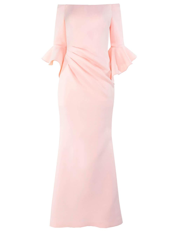 OTS Scuba Flutter Sleeve Gown