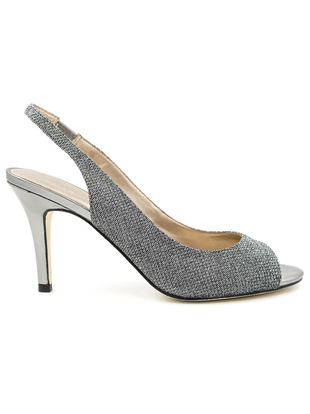 Slingback Peeptoe High Heel