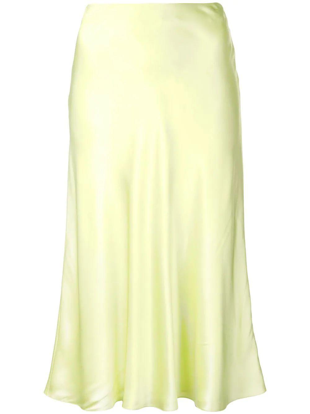 Marta Midi Slip Skirt Item # ZS1651468Z