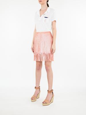 Speak Easier Shimmy Sequin Skirt