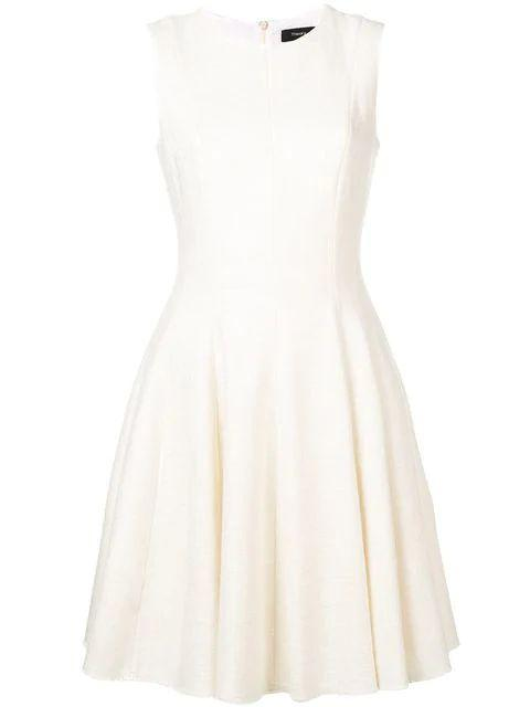 Canvas Fit and Flare Sleeveless Dress