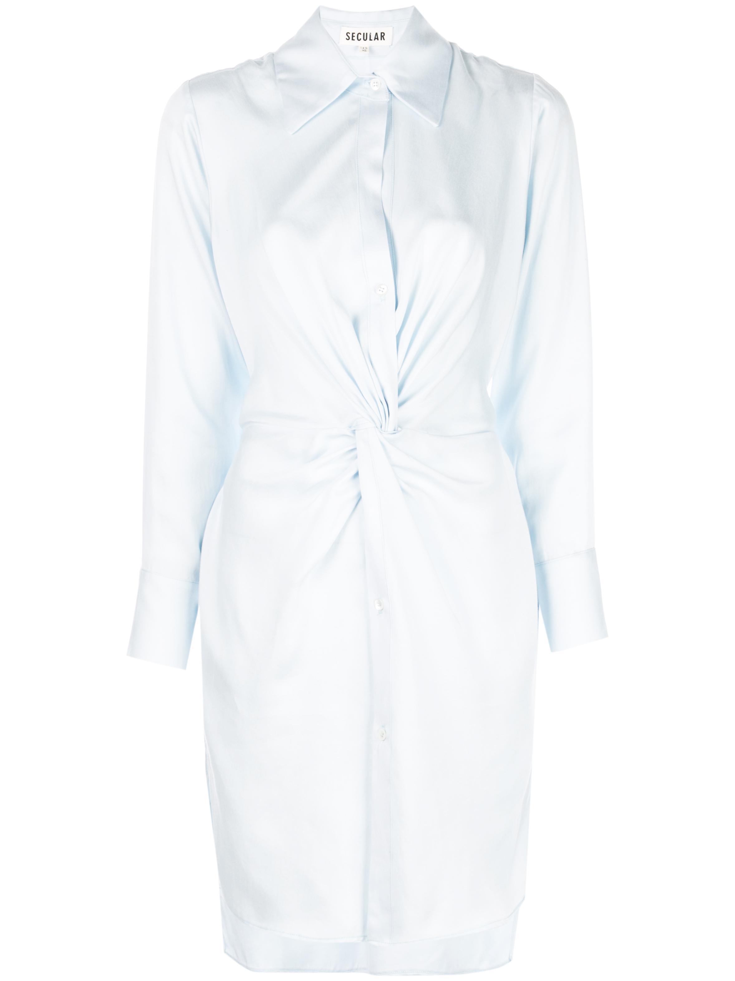 Julia Front Twist Dress Item # SL505