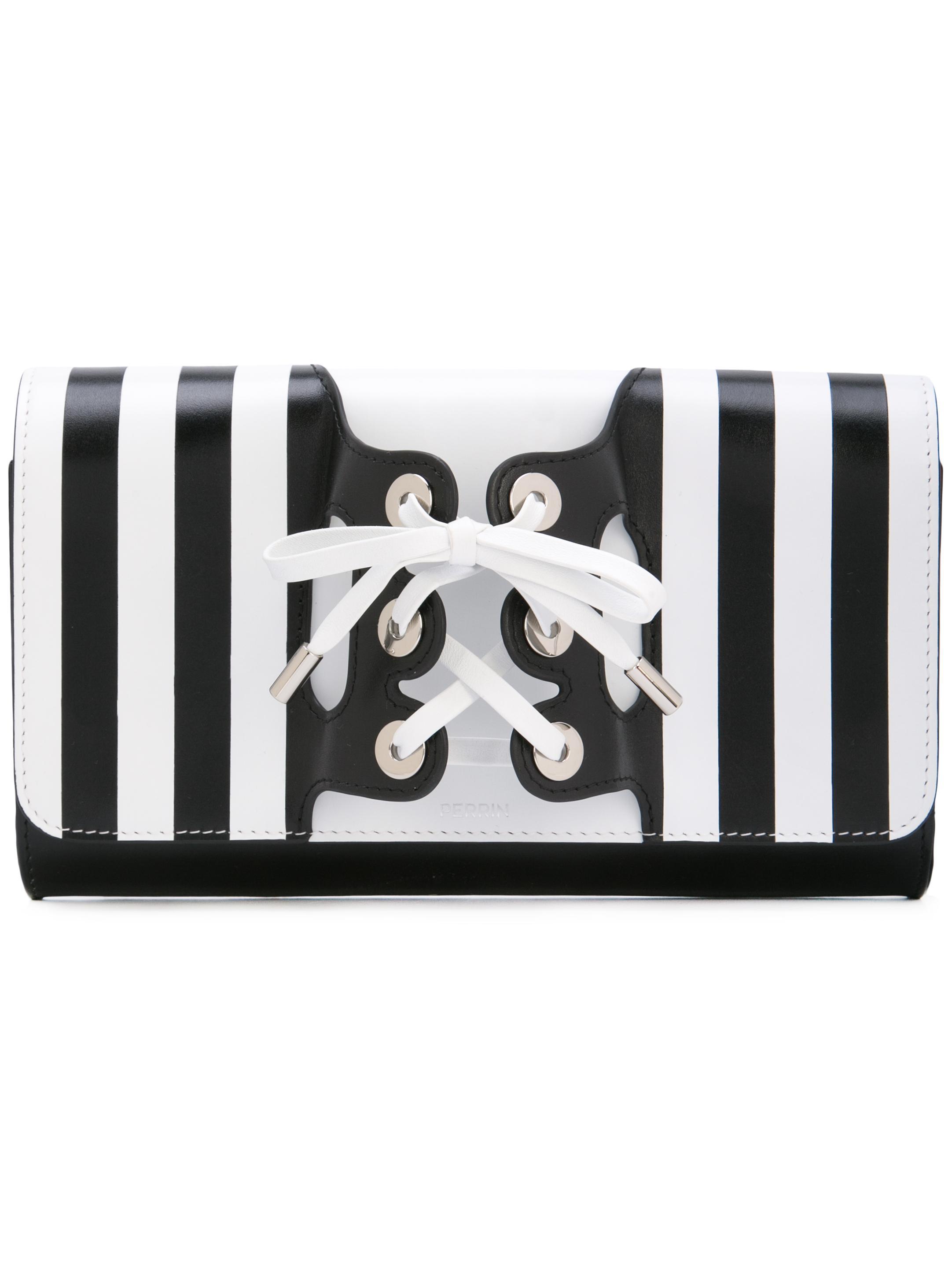 Le Corset Striped Glove Clutch