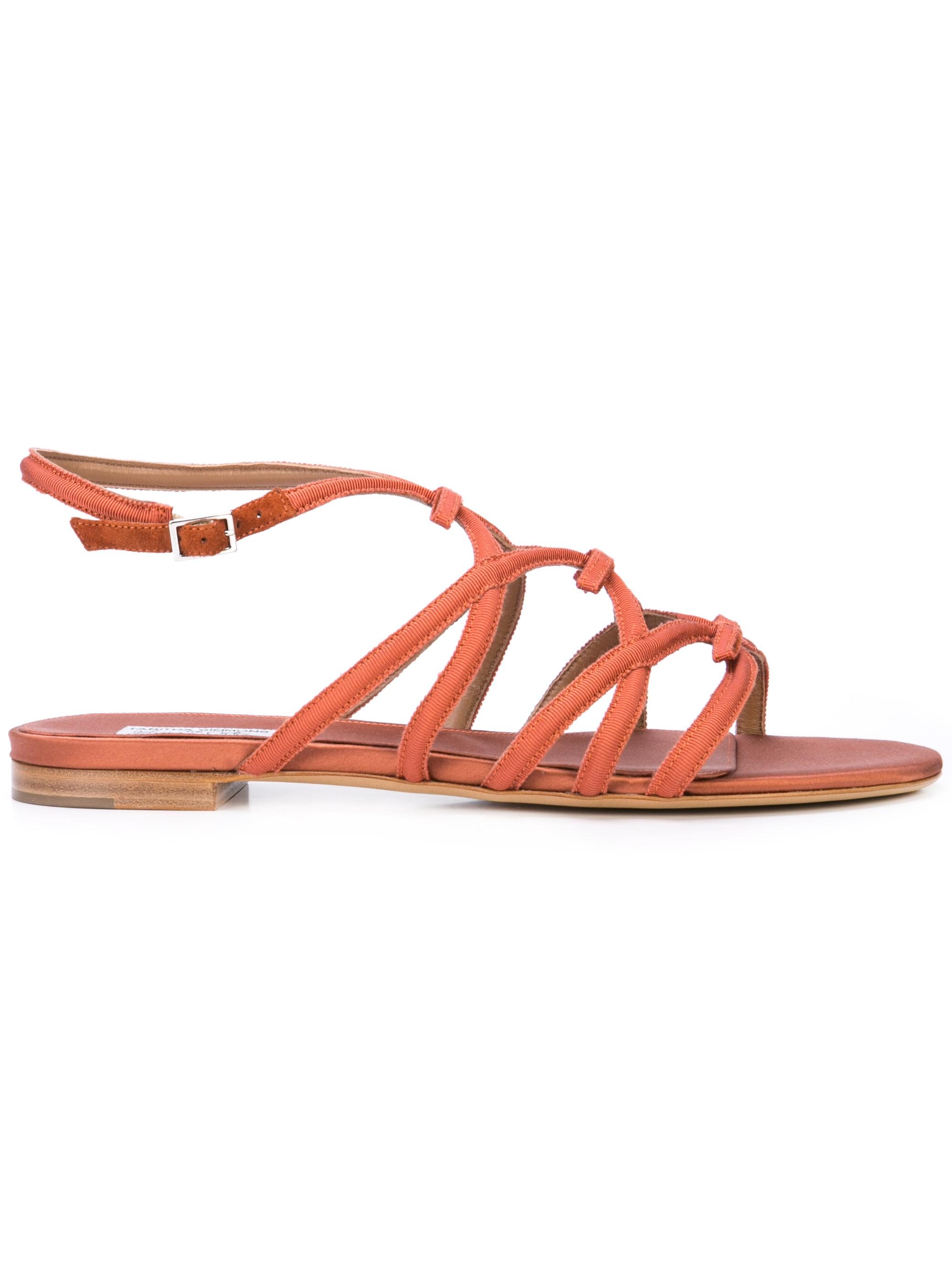 Grosgrain 5mm Strappy Sandal