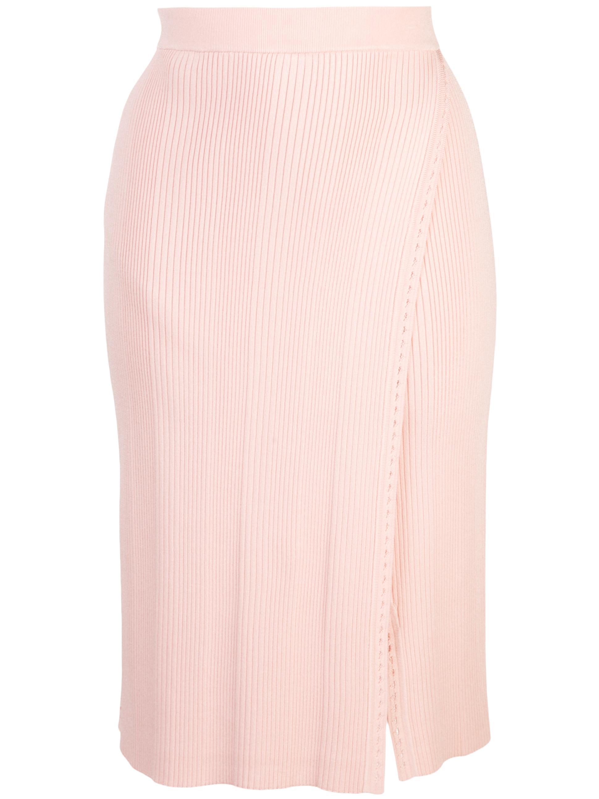 Eyelet Rib Wrap Skirt Item # Z3010-K