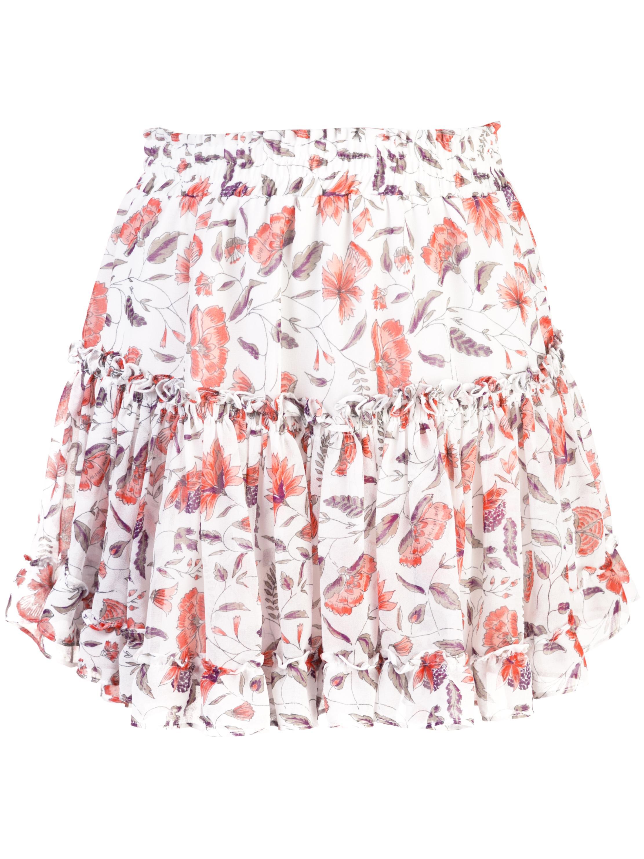 Khalo Print Mini Skirt