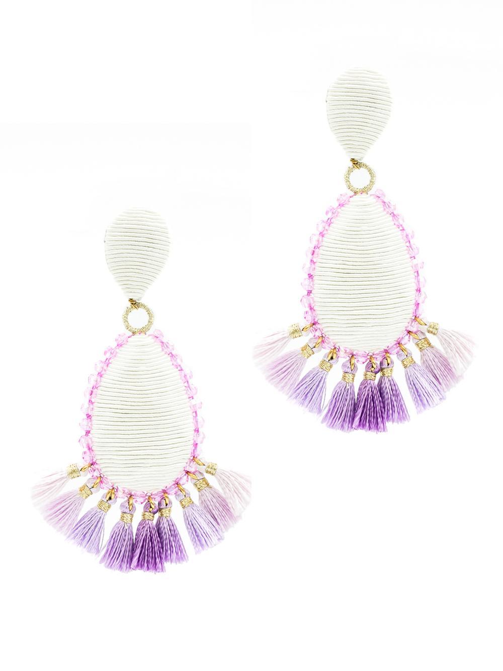 Exuma Tassel Earrings Item # 354LDEL