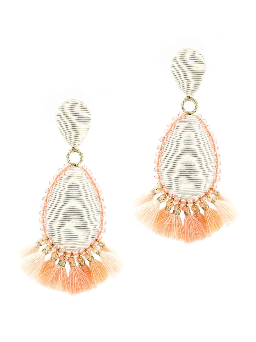 Exuma Tassel Earrings Item # 354LDEIB