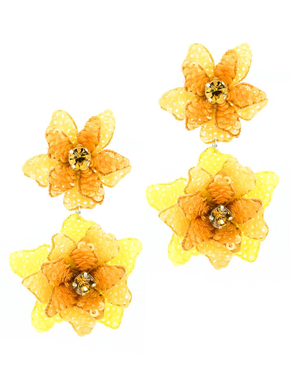 Oaxaca Flower Earrings
