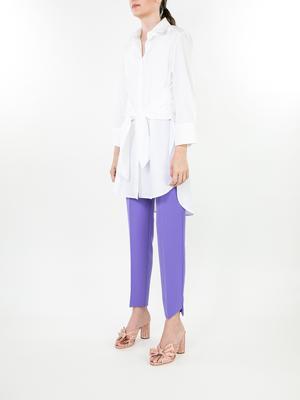 Angled Hem Trousers